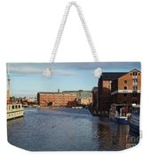 Views From Historic Gloucester Docks 2 Weekender Tote Bag