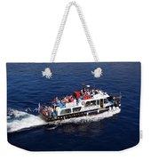 Views From Santorinia Greece Weekender Tote Bag