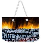 Views From The Fireplace Weekender Tote Bag