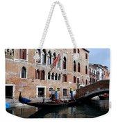Views Of Venice Weekender Tote Bag