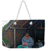Viking Fisherman At L'anse Aux Meadows-nl  Weekender Tote Bag