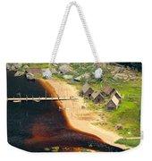 Viking Village Weekender Tote Bag