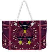 Vikings  And Leather Pop Art Weekender Tote Bag