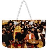 Villa And Zapata In The    National Palace In  Mexico City December 6 1914.  Weekender Tote Bag