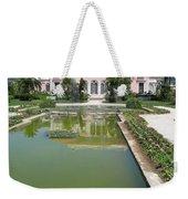 Villa Ephrussi De Rothschild With Reflection Weekender Tote Bag