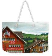 Hotel Santis And Hillside Of Appenzell Switzerland Weekender Tote Bag