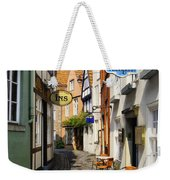 Village Cafe Weekender Tote Bag