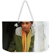 Village Girl India Weekender Tote Bag
