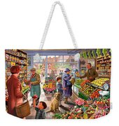 Village Greengrocer  Weekender Tote Bag