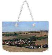 Village In A French Landscape  Weekender Tote Bag