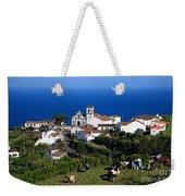 Village In Azores Islands Weekender Tote Bag