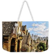Village Of Winchcombe Weekender Tote Bag