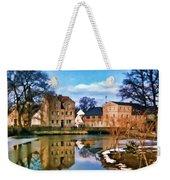 Village Reflections Weekender Tote Bag