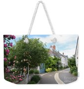 Village Road Weekender Tote Bag
