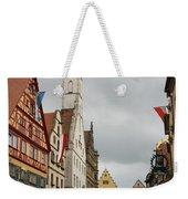 Village Scene Rothenburg Ob Der Tauber Weekender Tote Bag