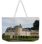 Villandry Chateau And Boxwood Garden Weekender Tote Bag