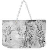 Villard De Honnecourt (c1225-1250) Weekender Tote Bag