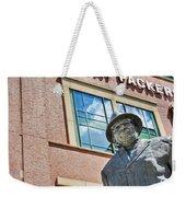 Vince Lombardi Statue Lambeau Field Weekender Tote Bag