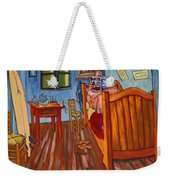 Vincents Bedroom In Arles For Surfers-amadeus Series Weekender Tote Bag