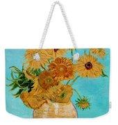 Vincent's Sunflowers Weekender Tote Bag