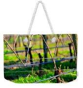 Vines On Wire 22637 Weekender Tote Bag