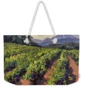 Vineyard At Dentelles Weekender Tote Bag