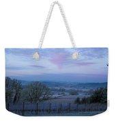 Vineyard Morning Light Weekender Tote Bag by Jean Noren