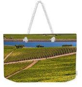 Vineyard On A Lake Weekender Tote Bag