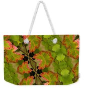 Vineyard Quilt Weekender Tote Bag