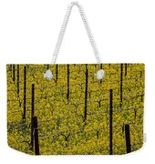 Vineyards Full Of Mustard Grass Weekender Tote Bag