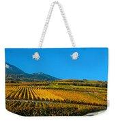Vineyards In Autumn, Valais Canton Weekender Tote Bag