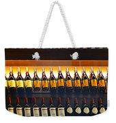 Vino Weekender Tote Bag by Laura Fasulo