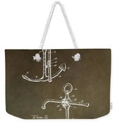 Vintage 1902 Anchor Patent Weekender Tote Bag