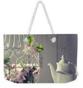 Vintage Afternoon Tea Weekender Tote Bag
