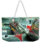 Vintage Airplane Comparison Weekender Tote Bag