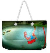 Vintage Airplane Margie Weekender Tote Bag