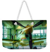 Vintage Airplane Three Weekender Tote Bag