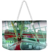 Vintage Airplane Two Weekender Tote Bag