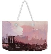 Vintage America Brooklyn 1930 Weekender Tote Bag