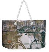 Vintage Amsterdam Weekender Tote Bag