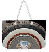 Vintage Automobile Tire Weekender Tote Bag