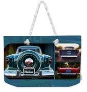 Vintage Automobiles Weekender Tote Bag