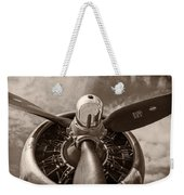 Vintage B-17 Weekender Tote Bag by Adam Romanowicz