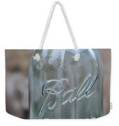Vintage Ball Mason Blue Weekender Tote Bag