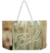 Vintage Ball Mason  Weekender Tote Bag
