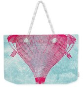 Vintage Balloon Weekender Tote Bag