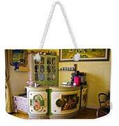 Vintage Bar - Hotel Subasio - Assisi Italy Weekender Tote Bag