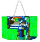 Vintage Barber Chair - 20130119 - V2 Weekender Tote Bag