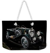 Vintage Bentley 4.5 Liter Le Mans Weekender Tote Bag