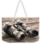 Vintage Binoculars Weekender Tote Bag